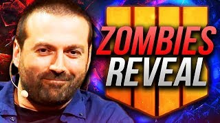 BLUNDELL REVEALS THE SECRET ZOMBIES MAP + Details!! (Black Ops 4 Zombies VAPE REVEAL)