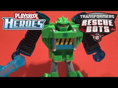 Transformers Rescue Bots: Boulder the Construction-Bot Figure, Playskool Heroes