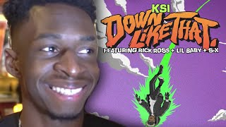 Tobi TBJZL Of Sidemen Reacts KSI Down Like That & Rick Ross Attending KSI Vs Logan Paul Rematch