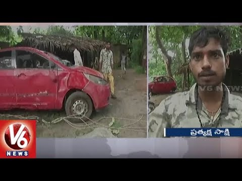 Seven Children Of Family Die After Car Falls Into Ditch In Gujarat | V6 News