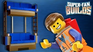 Lego Double Decker Couch (the Lego Movie) - Super Fan Builds