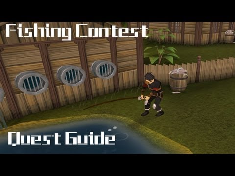 RuneScape – Fishing Contest – Quest Guide