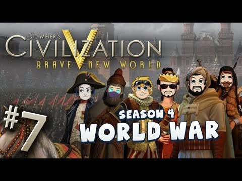 Civ 5 World War - Part 7: Wobbuffet