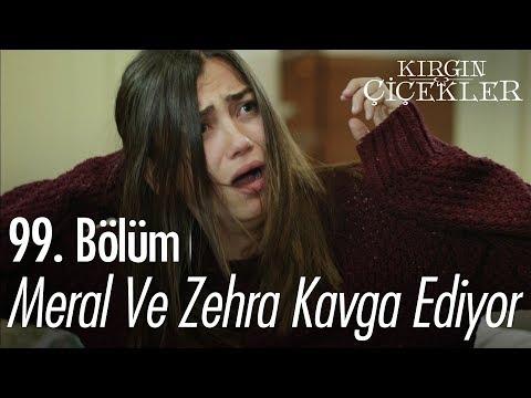 Meral ve Zehra kavga ediyor - Kırgın Çiçekler 99. Bölüm