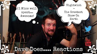 Nightwish - The Greatest Show On Earth - Dave Does Reaction