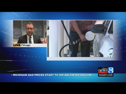 MI gas prices start to dip below $3/gallon