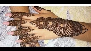 Simple Mehendi Design 2016 . Best Mehendi Design 2016 . Easy Mehndi Designs for beginners
