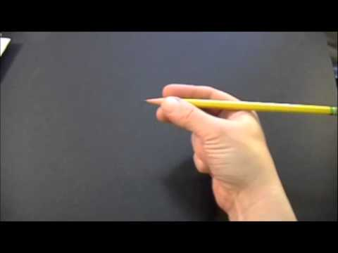 Pencil Grasp (Learn to pick up a pencil)