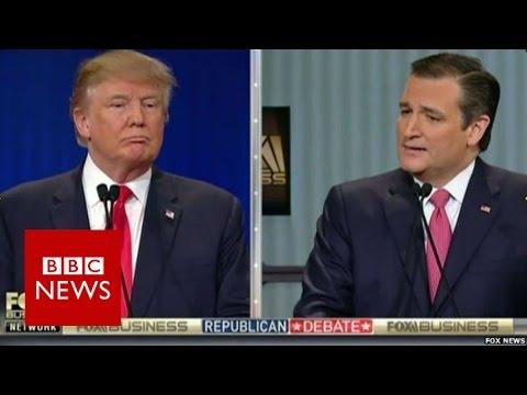 Trump v Cruz: Where were you born? BBC News