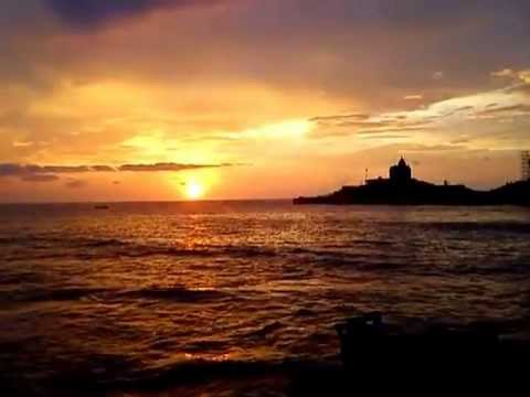 Kanyakumari morning sun rise