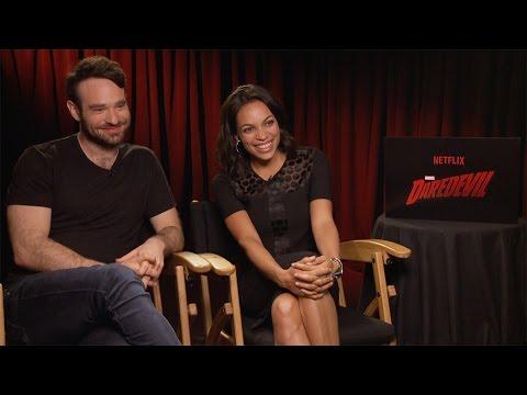 Charlie Cox & Rosario Dawson Interview: Marvel's Daredevil