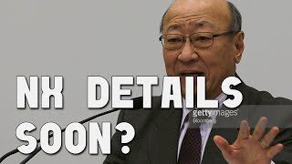 Nintendo to Reveal NX Details Soon?
