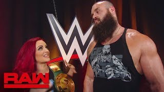 Maria Kanellis confronts Braun Strowman: Raw, July 29, 2019