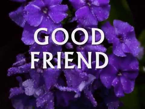 GOOD FRIEND - (Lyrics)