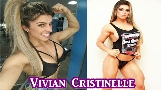 Vivian Cristinelle - Sexy Fitness Model / All Butt Exercises & Full Workout
