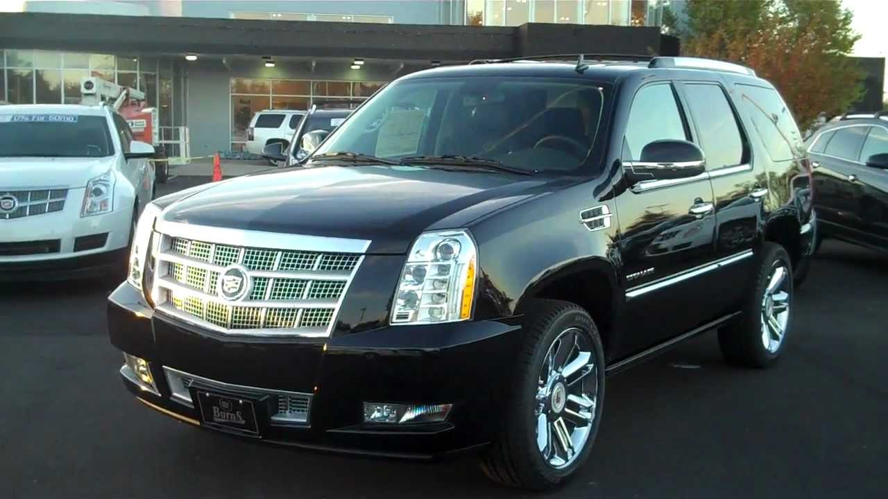 2013 Cadillac Escalade Platinum Burns Cadillac Rock Hill