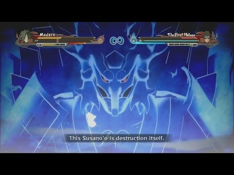 Naruto Shippuden Ultimate Ninja Storm Revolution - Sage Hashirama Vs Pefect Susano Madara video