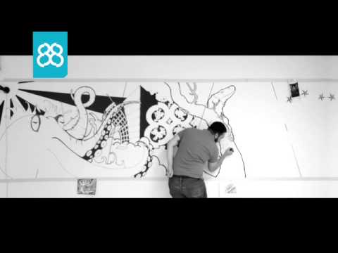 Eight Eight - Time-lapse Mural Feat. Mal Alden video