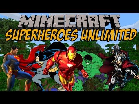 SUPERHELDEN IN MINECRAFT | Superheroes Unlimited Mod | Minecraft Mod Review [DEUTSCH]