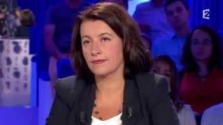 Cécile Duflot - On n'est pas couché 30 août 2014 #ONPC