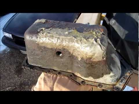 Dead oil pan review from a 2002 Pontiac Grand Prix with a 3800 Series 2