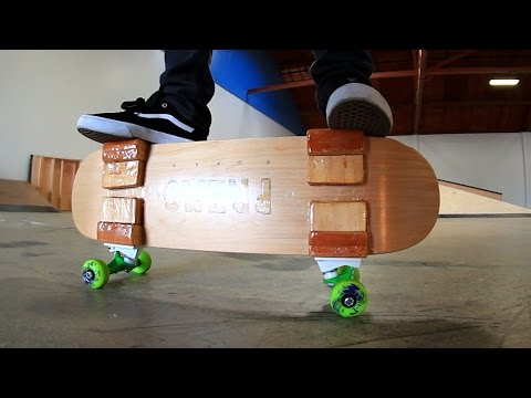 THE PRIMO SKATEBOARD | YOU MAKE IT WE SKATE IT EP 95