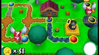 World 4-Ghost House | Star Coins and Canon | New Super Mario Bros DS