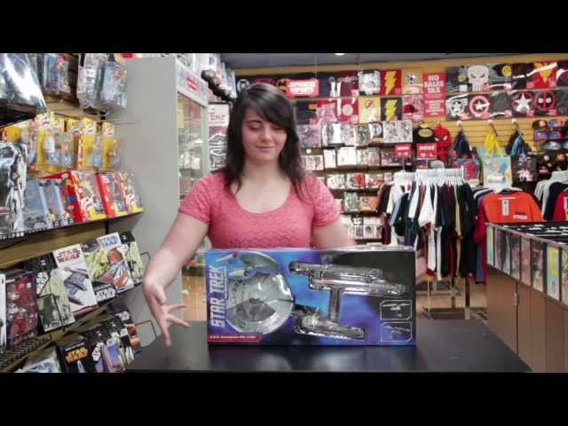Star Trek Original Series Enterprise Cutaway Model Unboxing