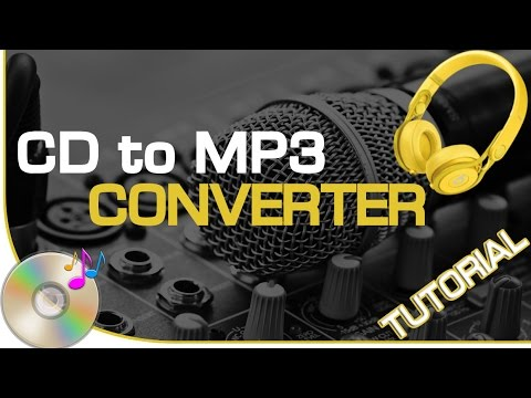 CD to MP3 CONVERTER- Tutorial Deutsch/German