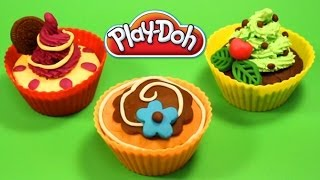 Play Doh Cupcakes Playdough Sweet Confections Cupcakes Muffins Ice Creams