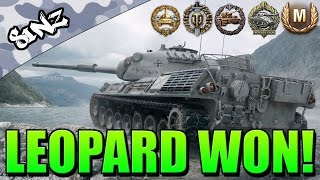 LEOPARD WON (Epic Carry!) - World of Tanks Console | Leopard 1 Gameplay