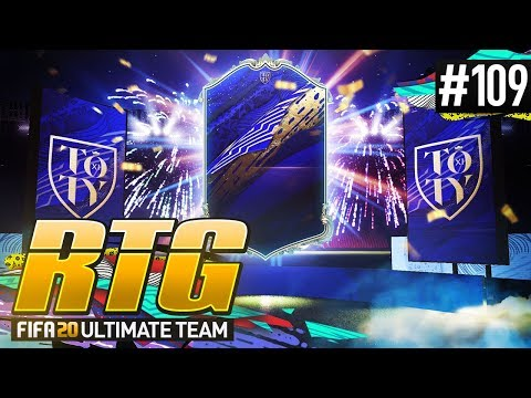 TEAM OF THE YEAR IS HERE! - #FIFA20 Road to Glory! #109 Ultimate Team