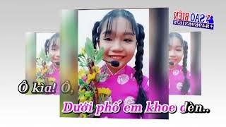 [Karaoke HD] Khoe Đèn - Bé Phượng Uyên - Nhạc Tết Trung Thu