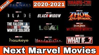 Next Marvel movies & shows officially announced | Marvel phase 4 movies & shows explained in Hindi