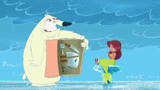 Zig & Sharko 🌴🥶 COLD SNAP (S01E06)🧣  Full Episode in HD