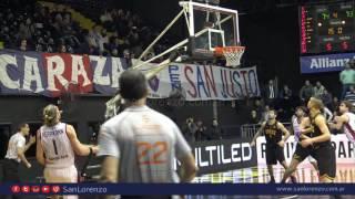 Liga Nacional - 2015/2016 - Obras 74 - San Lorenzo 79