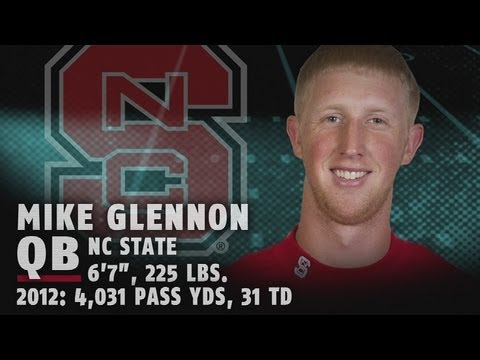 Best of NC State's Mike Glennon - 2013 NFL Draft Highlights - 3rd Round Pick Tampa Bay Buccaneers