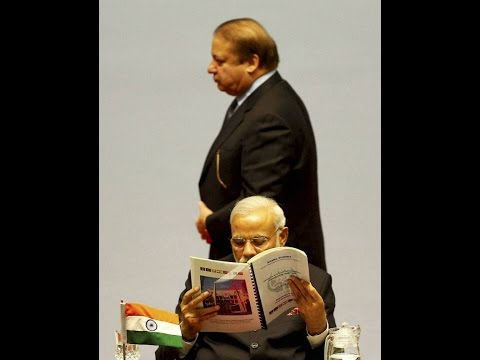 Modi  ignore Nawaz sharif in SAARC summit :Pakistan media