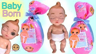 BABY BORN Surprise Blind Bags ! Water Color Change Babies - Toy Video