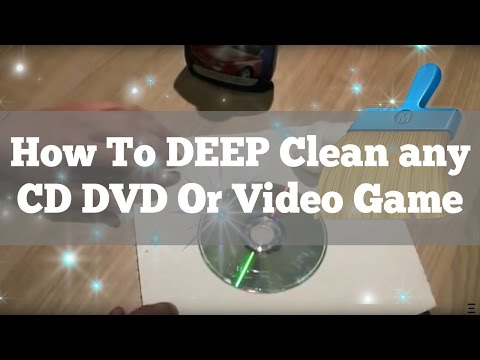 How to clean a CD. DVD. Blu-ray