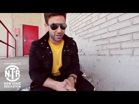 Jake Bundrick (Mayday Parade) Takes the Non Toxic Revolution Plastic Sucks! Challenge