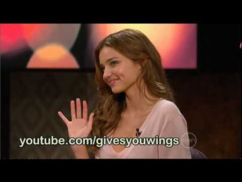 Miranda Kerr interview on ROVE (Australia)