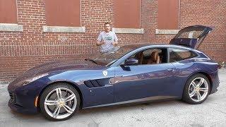 Ferrari GTC4Lusso - это горячий хэтчбек за $350 000