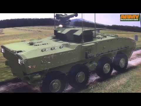 Kestrel 8x8 amphibious armoured vehicle platform Tata Motors India defense industry Defexpo 2014