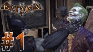 Arkham Asylum - How it Began Jokers Asylum! Arkham Asylum Part 1