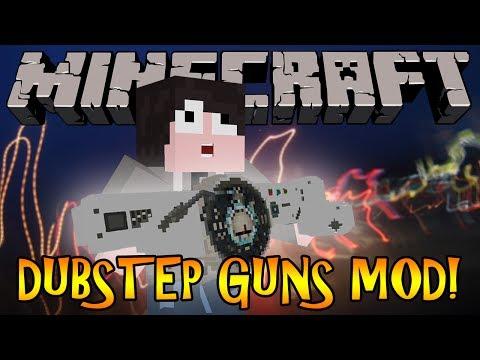 Minecraft Mod Review: DUBSTEP GUNS - SAINTS ROW 4 DUBSTEP GUNS!!