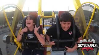 Big Mistake Kid Passes out 12 times Amusement Park Ride