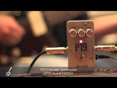 Skreddy P19 Fuzz Pedal [Pink Floyd's David Gilmour Big Muff Tone]