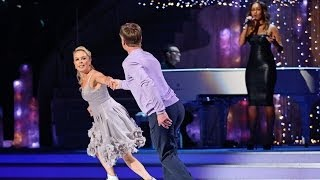 Dancing On Ice 2014: Torvill and Dean with Rebecca Ferguson