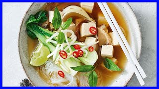 Vegetarian Pho Recipe and Beef